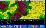 Lost Patrol DOS The Map ... this is the main screen of this game (VGA)