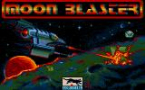 Moon Blaster DOS Title Screen (VGA)