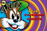 Mr. Nutz Game Boy Advance Title screen