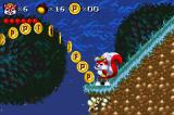 Mr. Nutz Game Boy Advance Time your jump carefully to get all the coins.