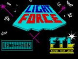 Lightforce ZX Spectrum Loading screen