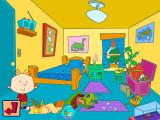 Playhouse Disney's Stanley: Wild for Sharks! Windows Stanley in his room - some of the model pieces are scattered around