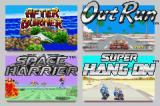SEGA Arcade Gallery Game Boy Advance Choose which of the 4 games you want to play.
