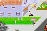 PaperBoy / Rampage Game Boy Advance Paperboy: the go kart racer can pull out at any time causing a nasty obstacle.