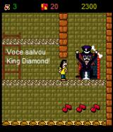 Roko-Loko no Castelo do Ratozinger J2ME Roko frees King Diamond!