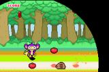 Harvest Time Game Boy Advance A rodent grabs a missed fruit, game over.