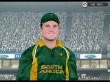 Cricket 2005 Windows Greame Smith (One of the authentic faces in the game) as depicted in the game