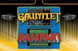 Gauntlet / Rampart Game Boy Advance Select which game you want to play.