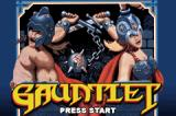 Gauntlet / Rampart Game Boy Advance Gauntlet: title screen