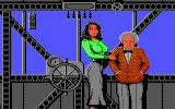 Rocket Ranger Commodore 64 Jane and Doctor Barnstorff.