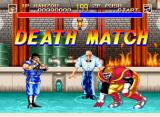 World Heroes 2 Neo Geo If you choose Death Match, you get a different style of life bar.