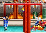 World Heroes 2 Neo Geo Beat up your enemies for a ten count and win.