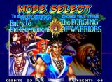 World Heroes 2 JET Neo Geo The Death match mode is gone, but you have a training mode now.