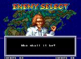 World Heroes 2 JET Neo Geo It's the scientist from the first game.