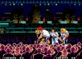 World Heroes 2 JET Neo Geo You fight against three enemies in each round.