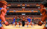 TV Sports: Basketball Amiga The tip off.
