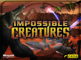 Impossible Creatures Windows The first splash screen of the game