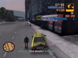 Grand Theft Auto III Windows You can do taxi driver jobs - the game changes to something like Crazy Taxi with violence and excellent graphics :)