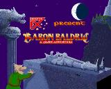 Baron Baldric: A Grave Adventure Amiga Title screen