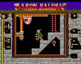 Baron Baldric: A Grave Adventure Amiga Despite being old, our Baron really does the stairs without stumbling.