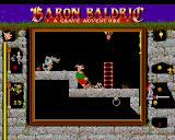 Baron Baldric: A Grave Adventure Amiga Watch out for everything moving there in the dark!