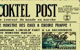 20,000 Leagues Under the Sea Atari ST Article in newspaper describes the departure reason (French version)
