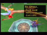 Spyro the Dragon PlayStation Those sexy winged babes are used as saving points. Very creative ;)