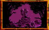 Once Upon a Time: Baba Yaga Atari ST Strange castle at the distance