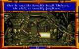 Once Upon a Time: Baba Yaga Atari ST Fighting with terrible knight Skeleton