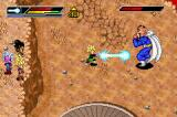 Dragon Ball Z: Buu's Fury Game Boy Advance Gohan using an Electric Kamehame against Dabura.