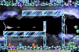 Gradius Galaxies Game Boy Advance Not many enemies here but a lot of things to avoid touching.