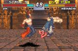 Tekken Advance Game Boy Advance Jin's Lightning Uppercut to Heihachi