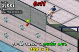 Dave Mirra Freestyle BMX 2 Game Boy Advance Jumping from great heights.