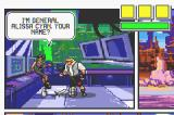 Comix Zone Game Boy Advance A woman introduces herself and tells you about a critical mission but forgets to mention the details.