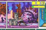 Comix Zone Game Boy Advance Trying to break the barrels.