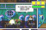 Comix Zone Game Boy Advance Using a bomb.