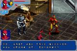 Marvel Ultimate Alliance Game Boy Advance Hearing about your next mission