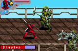 Marvel Ultimate Alliance Game Boy Advance Sending an enemy away with one blow