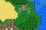 Final Fantasy II Game Boy Advance Overworld