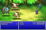 Final Fantasy II Game Boy Advance Battle