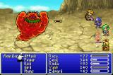 Final Fantasy II Game Boy Advance Teaming up with Yang to fight Mom Bomb