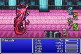 Final Fantasy II Game Boy Advance Fighting the Lord of Fire - Rubicante