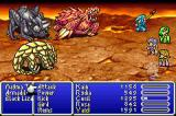 Final Fantasy II Game Boy Advance A battle in the Underworld