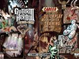 Guitar Hero III: Legends of Rock Windows Main menu