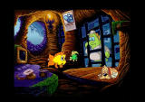 Freddi Fish 3: The Case of the Stolen Conch Shell Windows Luther's Uncle is in Jail!