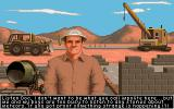 It Came from the Desert Amiga The foreman of the hot springs.
