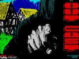 Outcast ZX Spectrum Loading screen