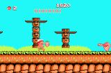 Adventure Island Game Boy Advance Some enemies like this snake can fore projectiles at you