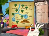 ClueFinders: 3rd Grade Adventures Windows Find and mark the correct place on the map.