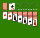 Solitaire NES Drawing 1 card at a time.